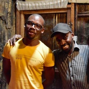 Cavin Odero (l) and Francis Gikufu (r)