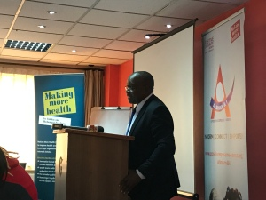 Dr. Bernard Mogesa , CEO of Kenyan National Commission on Human Rights
