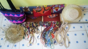 Handicrafts made by our PWAs in Webuye