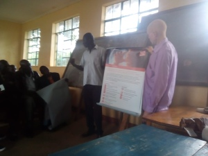 Peer to oder training on hygiene and health topics